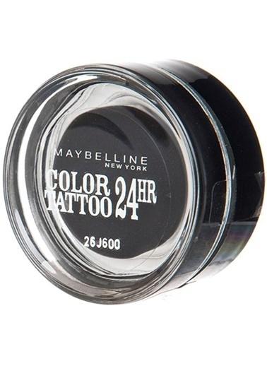 Maybelline Color 24Hr Tattoo 60-Timeless Black Renkli